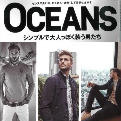 "3/24(土)発売 ""OCEANS""掲載"