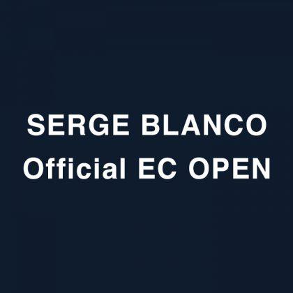 SERGE BLANCO ONLINE STORE OPEN